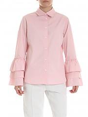 [관부가세포함][퍼지] Pink shirt with flounces (F91188 11587 311)