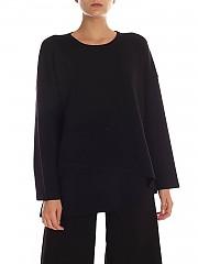 [관부가세포함][퍼지] FW19 여성 오버사이즈 풀오버 in black (F91500 00087 999)