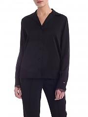 [관부가세포함][캘빈클라인] SS20 여성 Lace 셔츠 in black (K20K201687 BDS)