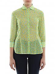 [관부가세포함][바르바] SS20 여성 7부 프린트 셔츠 (1861W3403)