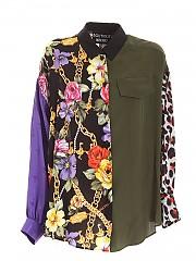 [관부가세포함][모스키노 부티크] FW20 여성 프린트 셔츠 (0201 6152 1888)