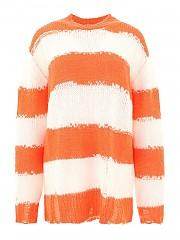 [관부가세포함][아크네스튜디오] FW20 여성 스웨터 (A60209 WHITE CORAL)