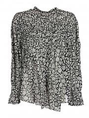 [관부가세포함][이자벨마랑 에뚜왈] FW20 여성 셔츠 (HT1821-20A051E BLACK)