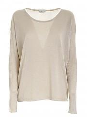 [관부가세포함][발란타인] FW20 여성 loose fit 니트 스웨터 (R1P454 14V41 10015)