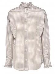 [관부가세포함][이자벨마랑 에뚜왈] FW20 여성 saoli 셔츠 (CH0673-20A041E OCHRE)