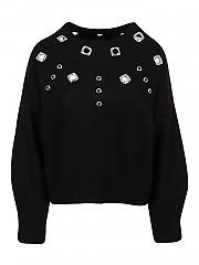 [관부가세포함][핀코] FW20 여성 울혼방 니트 스웨터 (1G1574 Y6CF Z99)