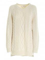 [관부가세포함][패로슈] FW20 여성 롱니트 스웨터 (LIVELY D540510 002)