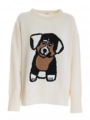 [관부가세포함][패로슈] FW20 여성 니트 스웨터 (LIMBO D510266 802)
