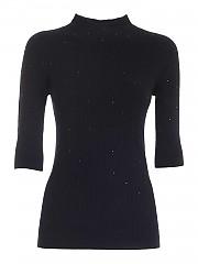 [관부가세포함][에르마노 바이 에르마노 설비노] FW20 여성 7부 니트 스웨터 (47 T MG61 0009)