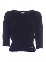 [관부가세포함][가엘 파리] FW20 여성 크롭 니트 스웨터 (GBD8023 NERO)