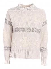 [관부가세포함][로레나안토니아찌] FW20 여성 크루넥 니트 스웨터 (I2061GM005/2556 3181)