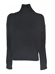 [관부가세포함][라네우스] FW20 여성 터틀넥 니트 스웨터 (MGD538 NERO)
