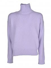 [관부가세포함][라네우스] FW20 여성 터틀넥 니트 스웨터 (MGD538 LILLA)