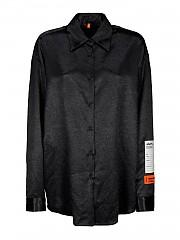 [관부가세포함][헤론 프레스톤] FW20 여성 shiny satin shirt (HWGA009E20FAB0031000)