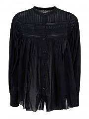 [관부가세포함][이자벨마랑] FW20 여성 셔츠 (HT1821-20A052E01 BK)