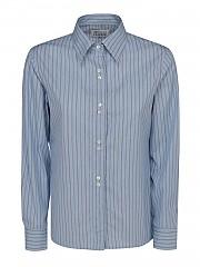 [관부가세포함][메종 마르지엘라] FW20 여성 striped shirt (S51DL0349 S5317 4001F)