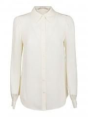 [관부가세포함][마이클코어스] FW20 여성 silk shirt (MF04LJAB06 BONE)