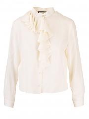 [관부가세포함][구찌] FW20 여성 jabot shirt (642439 ZAAOG 9154)
