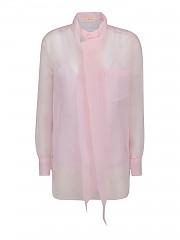 [관부가세포함][토리버치] FW20 여성 organza pink shirt (76110 651)