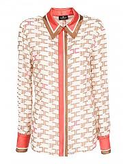 [관부가세포함][엘리자베타 프렌치] FW20 여성 monogram shirt (CA-303-06E2 193)