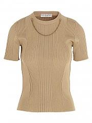 [관부가세포함][지방시] FW20 여성 short sleeves 풀오버 (BW60Q54Z76 280)