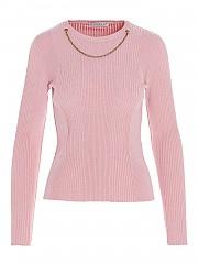 [관부가세포함][지방시] FW20 여성 chain detail 스웨터 (BW90AQ4Z76 670)