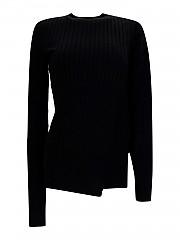 [관부가세포함][사카이] FW20 여성 ribbed wool crew neck (2005197002)