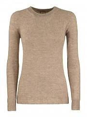 [관부가세포함][아뇨나] FW20 여성 캐시미어 크루넥 니트 스웨터 (K1000784 P080A N39)