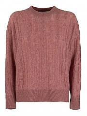[관부가세포함][아뇨나] FW20 여성 케이블 니트 캐시미어 니트 스웨터 (K1001186 P080A P67)