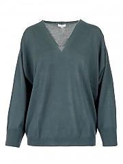 [관부가세포함][페세리코] FW20 여성 울 브이넥 니트 스웨터 (S99455F1 49770 039)