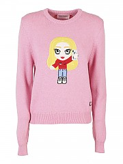 [관부가세포함][키아라 페라그니] FW20 여성 스웨터 (CFJM043 PINK)