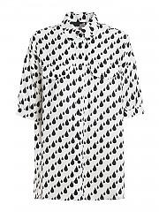 [관부가세포함][러브모스키노] SS21 여성 반팔 셔츠 (WCD94T089A0006)