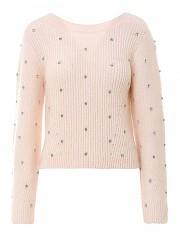 [관부가세포함][셀프포트레이트] SS21 여성 니트 스웨터 (RS21110WIVORY)
