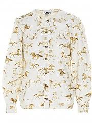 [관부가세포함][GANNI] SS21 여성 셔츠 (F5452132)