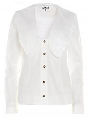 [관부가세포함][GANNI] SS21 여성 셔츠 (F5778151)