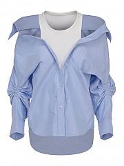 [관부가세포함][알렉산더 왕] SS21 여성 셔츠 (4WC1211189450)