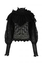 [관부가세포함][짐머만] FW20 여성 니트 스웨터 G(8575TLAD BLACK)