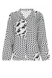 [관부가세포함][마린세르] FW20 여성 프린트 셔츠 G(T002FW20W 1)
