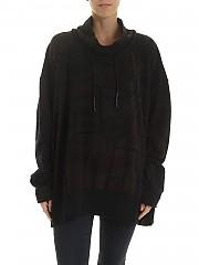 [관부가세포함][런드홀츠 블랙라벨] Asymmetric 여성 후드 티셔츠 (219 329 05 10 556)