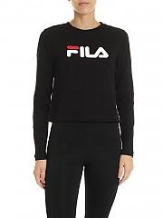 [관부가세포함][휠라] FW19 Marceline 여성 티셔츠 in black (687213 002)