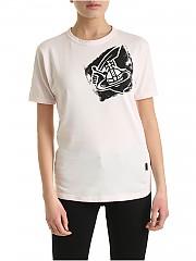 [관부가세포함][비비안웨스트우드 앵글로매니아] SS20 여성 반팔 티셔츠 (37010024-20987 G401)