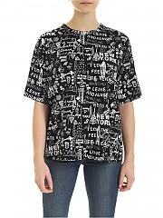 [관부가세포함][DKNY] SS20 여성 반팔 티셔츠 (P0AH0EPI BLW)