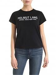 [관부가세포함][핼무트랭] SS20 여성 반팔 티셔츠 (K01DW504 BASALT BLACK)