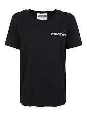 [관부가세포함][모스키노] FW20 여성 반팔 티셔츠 (0707 5540 1555)