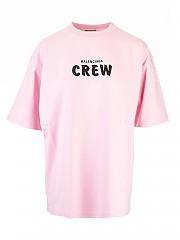 [관부가세포함][발렌시아가] FW20 여성 crew 티셔츠 (620941 TIVG9 1900)
