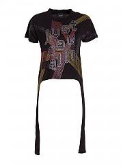 [관부가세포함][저스트 카발리] FW20 여성 반팔 티셔츠 (S02GC0395N20663900)