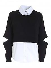 [관부가세포함][칼라거펠트] FW20 여성 스웨트셔츠-셔츠 (206W1809 999)