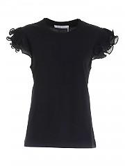 [관부가세포함][씨바이클로에] FW20 여성 러플 민소매 티셔츠 (CHS20AJH45081001)