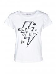 [관부가세포함][레드발렌티노] FW20 여성 반팔 티셔츠 (UR3MG06X 59S 001)