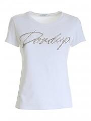 [관부가세포함][돈덥] FW20 여성 rhinestones 티셔츠 (S007 JS0241D ZH3 000)